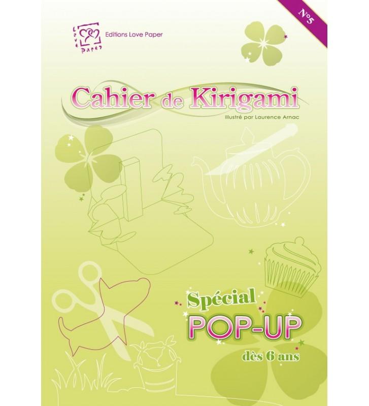 Cahier de kirigami N°5