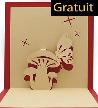 Champignon Papillon Téléchargement Gratuit