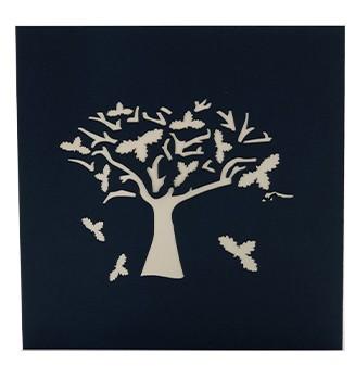 Kirigami couverture le Cerisier