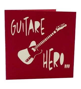 kirigami couverture Guitare hero