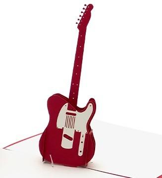 kirigami Guitare électrique Télécaster