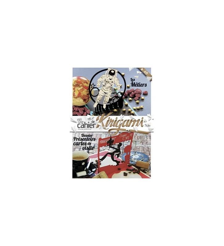 Couverture cahier de kirigami N°24 les métiers