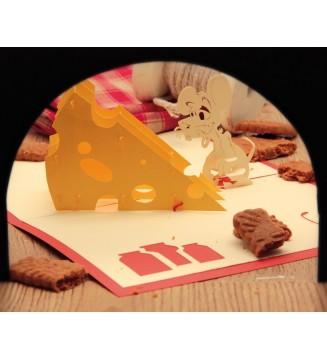 La souris et son fromage