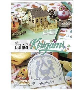 Couverture cahier de kirigami N°23