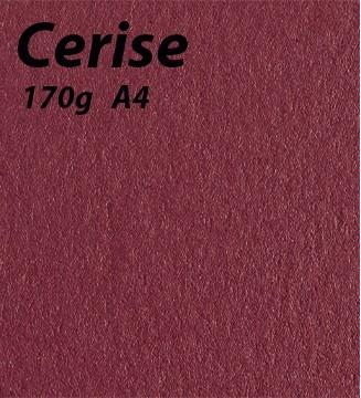 Papier Cerise A4 170g