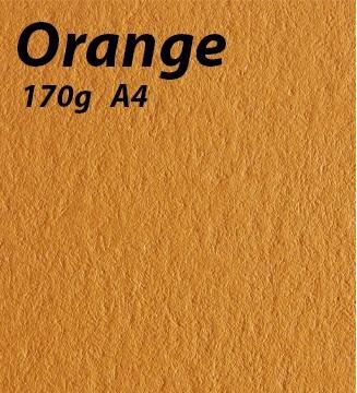 papier Orange A4 170g
