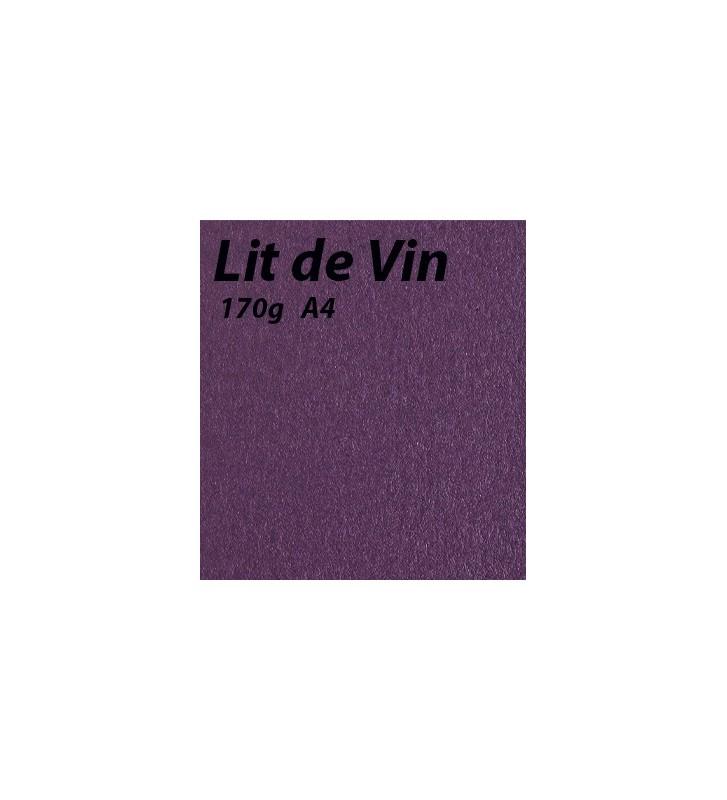 papier Lit de Vin A4 170g