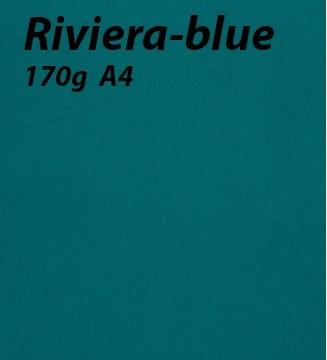 papier Riviera-blue A4 170g