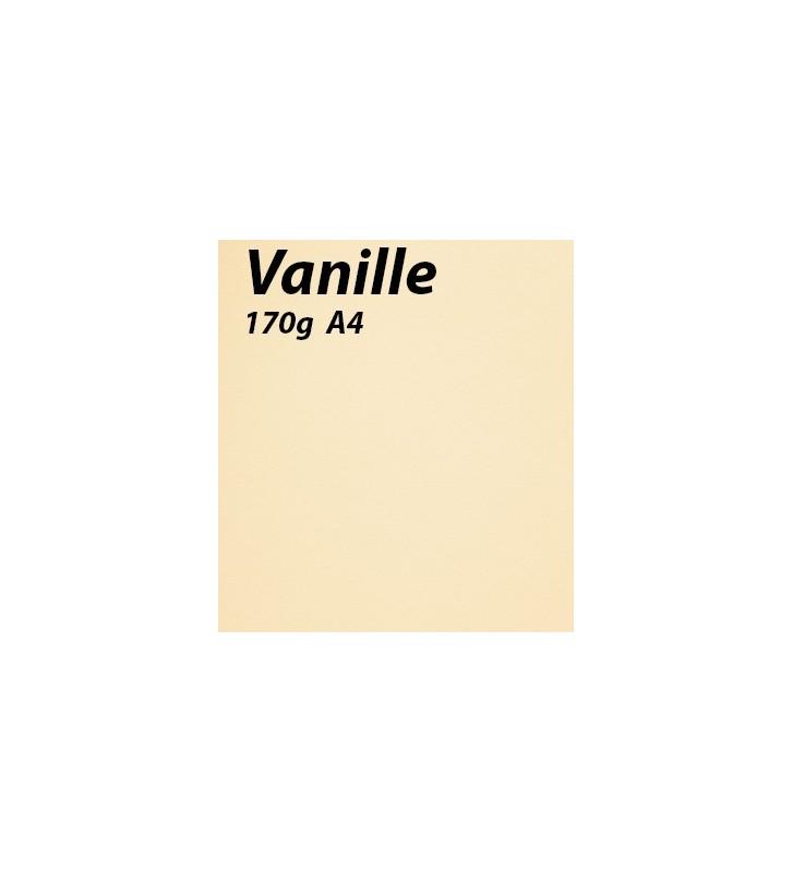 papier Vanille A4 170g