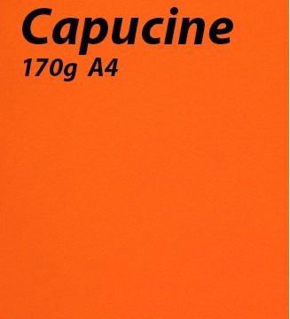 papier Capucine A4 170g