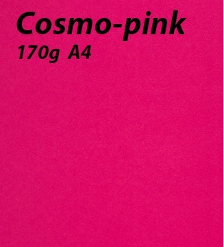papier Cosmo-Pink A4 170g
