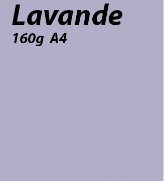 papier Lavande A4 170g
