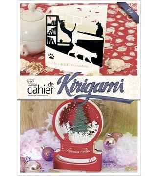 couverture cahier de kirigami N°26