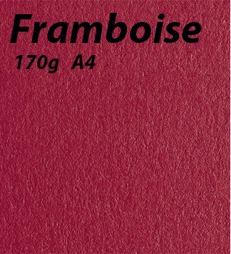 Papier 170g A4 Framboise