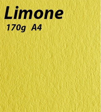 Papier 170g A4 Limone