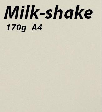 Papier 170g A4 Milk-shake