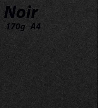 Papier 170g A4 Noir