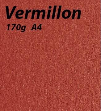 Papier 170g A4 Vermillon