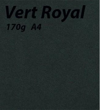 Papier 170g A4 Vert Royal