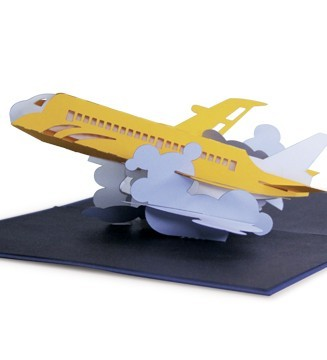 Kirigami Avion de ligne