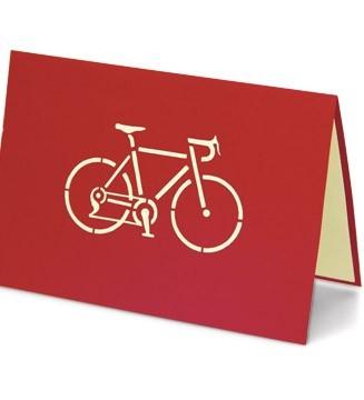 Couverture carte Cycliste