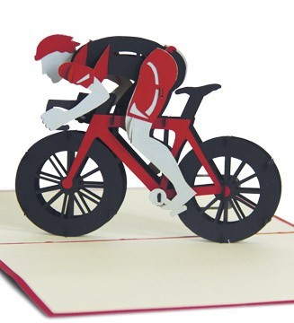 Kirigami Cycliste