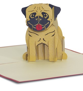 Kirigami Happy dog