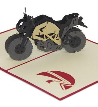 kirigami Moto de route