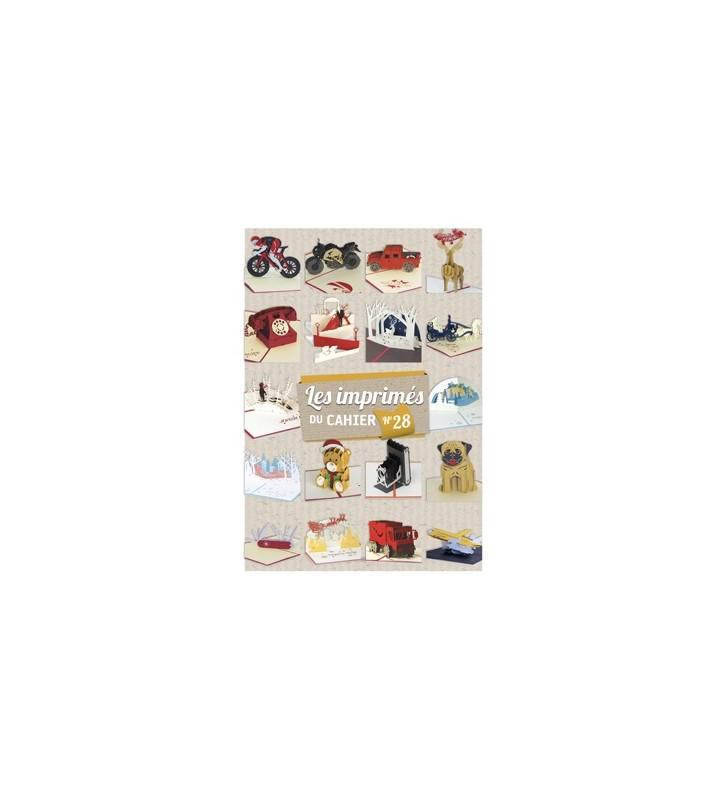 Les imprimés du cahier de kirigami N°28