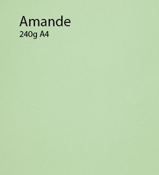 240g Amande papier A4