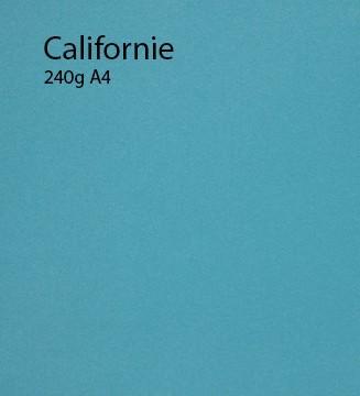 240g Californie papier A4 cartonné et coloré