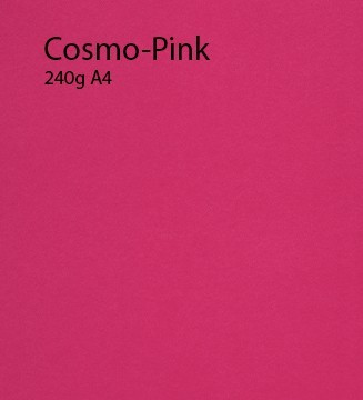 240g Cosmo-Pink papier A4