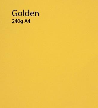 240g Golden papier A4