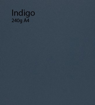 240g Indigo papier A4