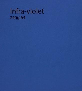 240g Infra violet papier A4
