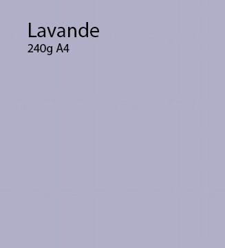 240g Lavande papier A4
