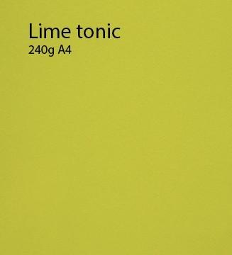 240g Lime-Tonic papier A4