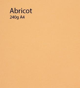240g Abricot papier A4