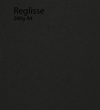 240g Réglisse papier A4