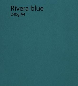 240g Rivera Blue papier A4