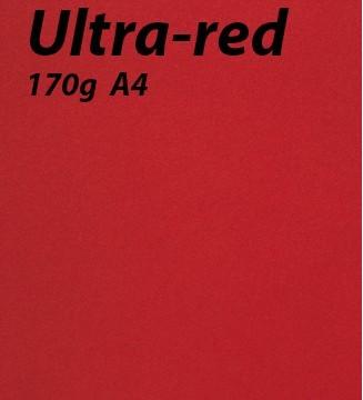 125 feuilles Ultra Red 170g