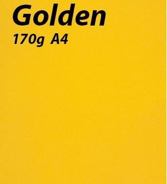 125 feuilles Golden
