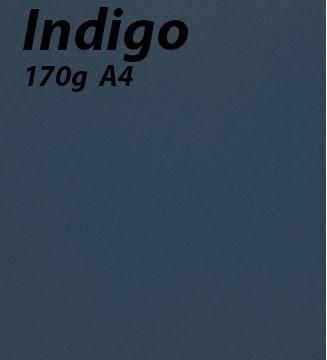 125 feuilles Indigo