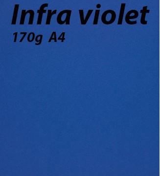 125 feuilles Infra-Violet