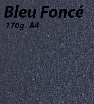 125 feuilles Bleu Foncé