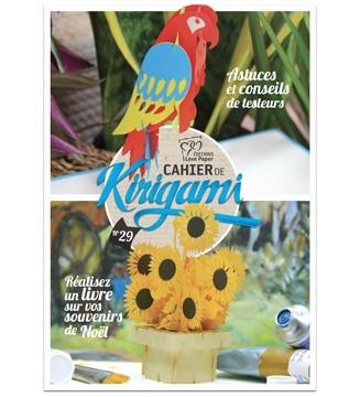 Couverture cahier de kirigami N°29