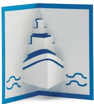 bateau kirigami