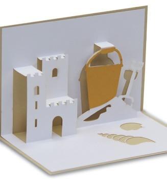 chateau de sable kirigami