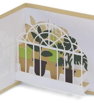 kirigami serre aux plantes