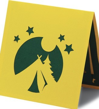 kirigami couverture tente camping